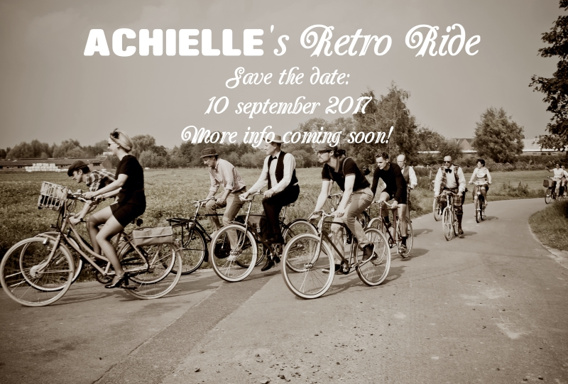 Achielle's retro ride 2017