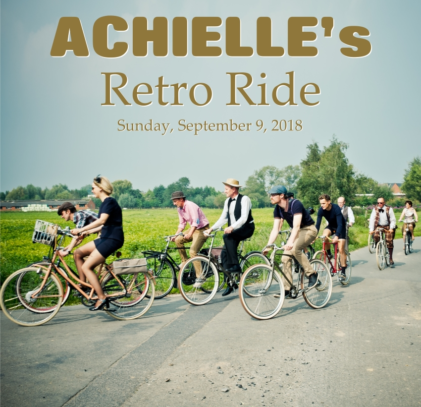 Achielle's retro ride 2018